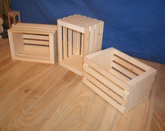 unfinished wooden crate, wood crate, wooden crates, wood crates, wooden storage crate,small crate, reception decor crate
