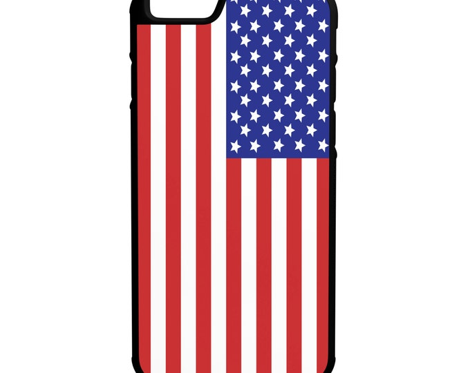United States of America iPhone Galaxy Note LG HTC Hybrid Rubber Protective Case American