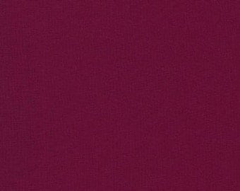 Kona Cotton in Bordeaux - Robert Kaufman (K001-1039)