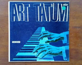 ART TATUM Jazz Piano With Slam Stewart and Everett Barksdale Recorded 1952 VG+