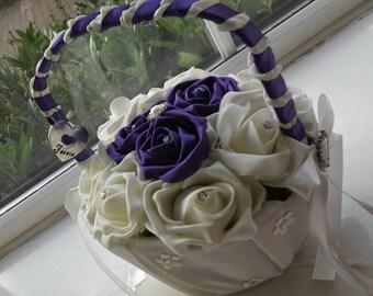Flower girl basket, any colours