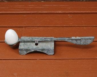 Vintage Egg Scale, Working Egg Grader, Galvanized Farm Egg Grader, Oakes Mfg. Egg Grader, Farmhouse Decor