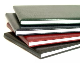 Personalized Plain Leather Book