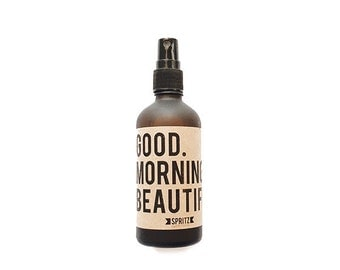 Good Morning Beautiful Citrus Essential Oil Spray