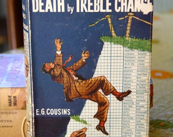 "A striking 1959 First edition E.G.Cousins ""Death By Chance "" Hard back Novel"