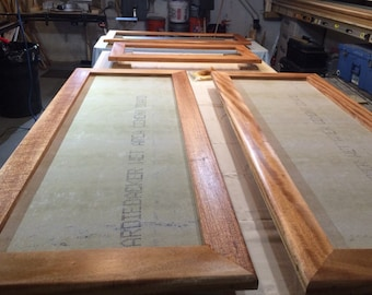 Custom picture frames priced by the linear foot