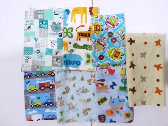 Boys cotton flannel fabric scraps boys cotton flannel fabric for Boys cotton fabric