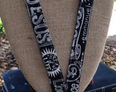 Jesus Lanyard Prince of Peace Lanyard Emmanuel Lanyard ID Badge Holder