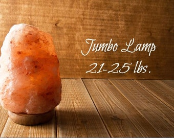 FREE GIFT with PURCHASE! Jumbo Himalayan Salt Lamp Salt Crystal Rock Ionizer Air Cleaner