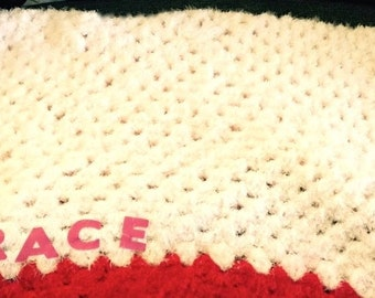 Baby blankets any size any colour can add a name too for adult babies