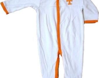 Tennessee Volunteer Baby Pleated Playsuit