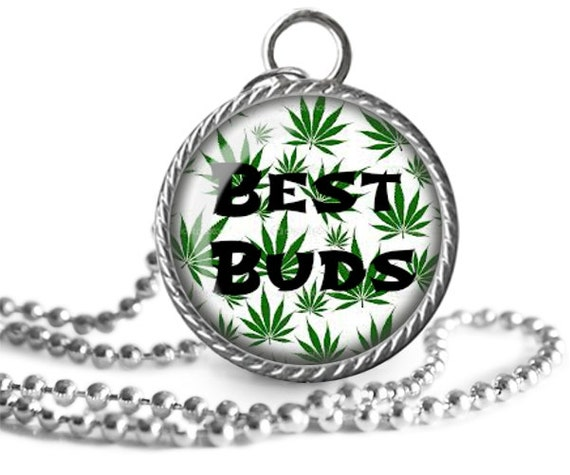 marijuana necklace best buds jewelry pot by allthingsimages