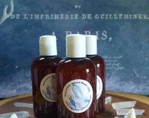 Undine Gem-infused Shower Jelly-1 4oz Bottle Of Calming, Soothing Ocean & Moss Inspired Natural Shower Jelly- Oak, Moss, Lime, Sea Mist