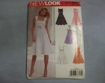 Simplicity New Look E6589 Sun Dress Pattern Size A (8-18) - Uncut, Simplicity Pattern, Sewing Patterns, Sun Dress Pattern, Summer Dress