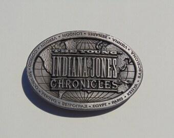 Young Indiana Jones Chronicles Belt Buckle Vintage