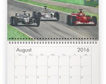 2016 Custom Motorsports Art Calendar