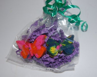 Mini Butterfly Crayons