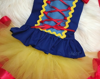 Custom Snow White Costume