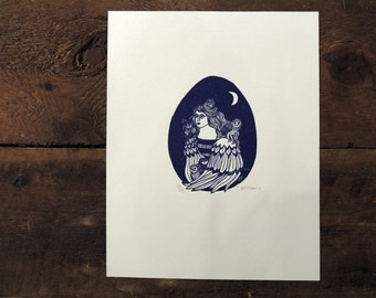 Jessica Bartram Letterpress Print