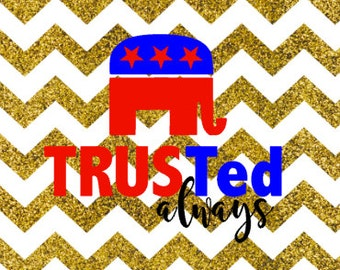 TRUSTed TED CRUZ SVG