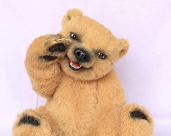 OOAK Teddy Bear Moona by True Bears