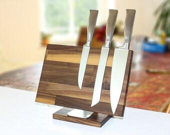 Knife block BLOQ 702 nut si knife bar magnet block