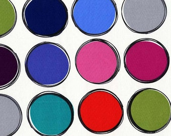 Paint Lids, Chroma Collection by Mark Hordyszynski for Michael Miller Fabrics 2136