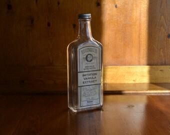 Medicine Bottle Vintage Watkins with Label