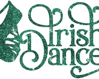 Irish Dance Iron On Decal