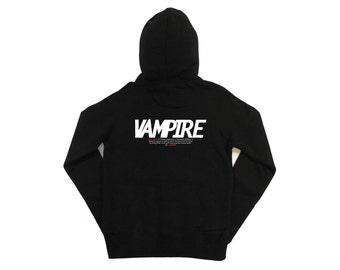 Monster Trilogy: Vampire Mens Zip-up Hoodie