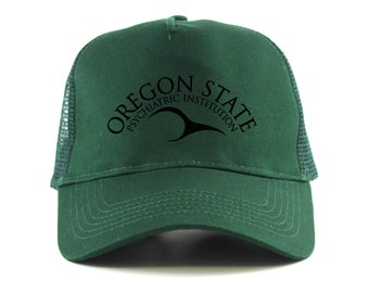 One Flew Over The Cuckoos Nest: Oregon State Institution Wings Trucker Cap
