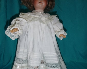 Vintage nightie or dress for your 16-17 in. antique doll