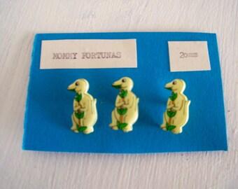 Cute Herbivore Dino Buttons