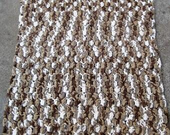 crochet baby blanket/doll blanket/30x34/stroller blanket/car seat blanket