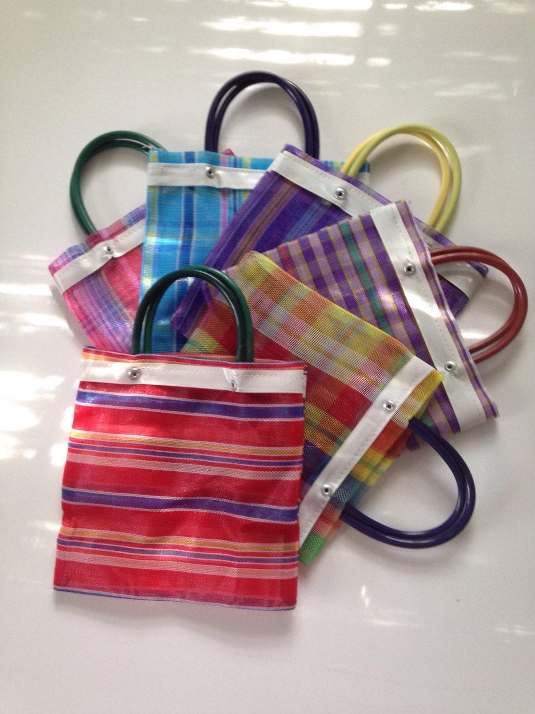 Items similar to Mexican Mercado Bag 2 party favors gift ...   Chalupa Mexican Mercado Bags