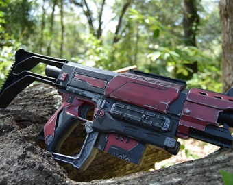 Crimson Collector Custom Painted Nerf Recon MKII