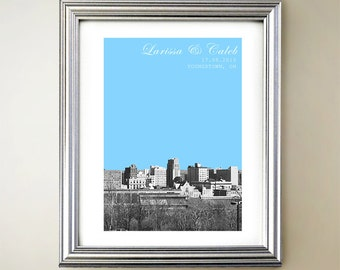 Youngstown Personalized Cityscape
