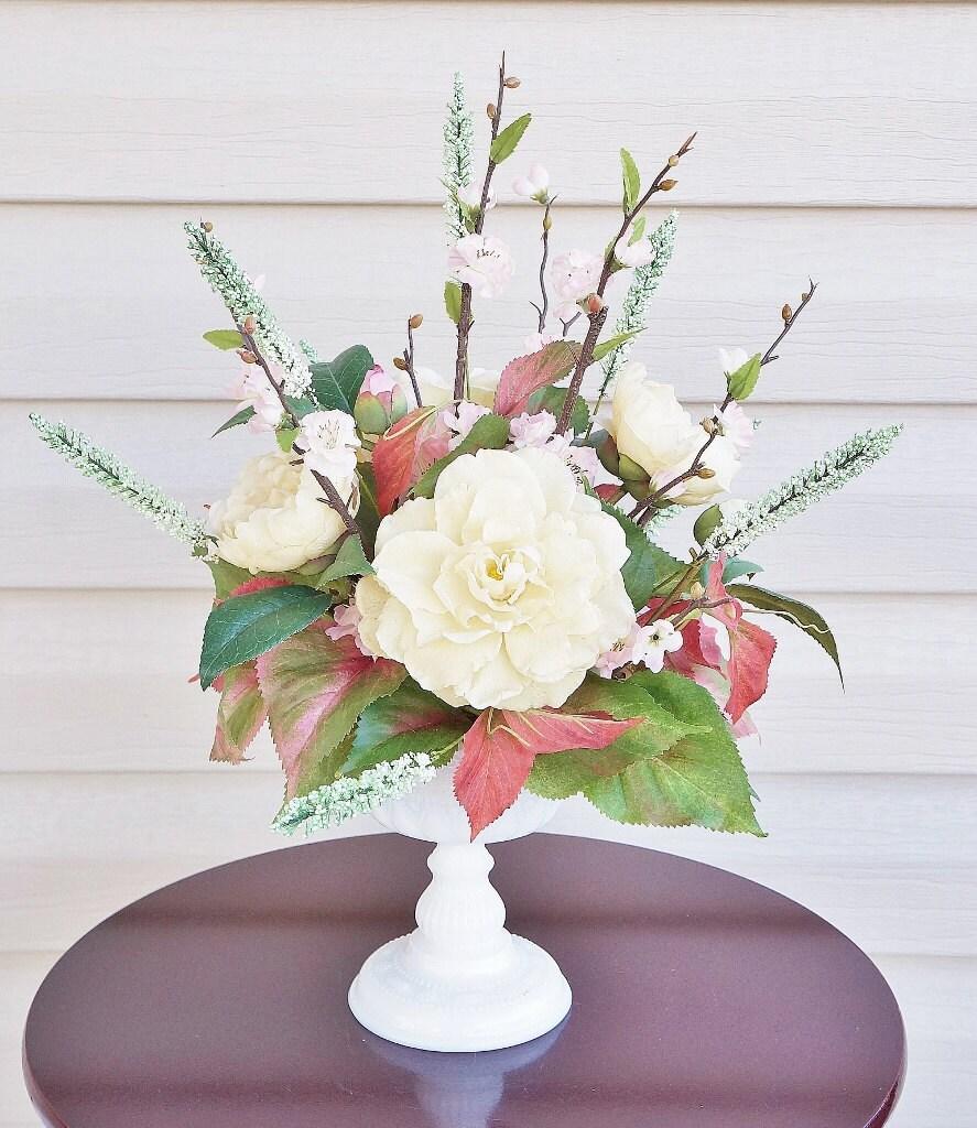 Home Floral Decor: Home Decor Silk Floral Arrangement Floral Decor Tropical