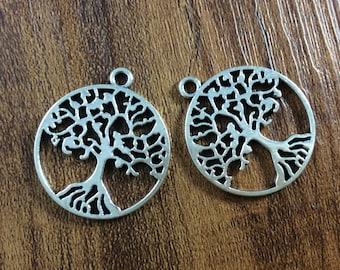 20pcs tree of life charm,tree of life pendant.