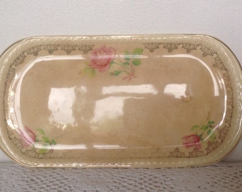 Rare Swinnertons Rectangular Sandwich Tray. 1940's.