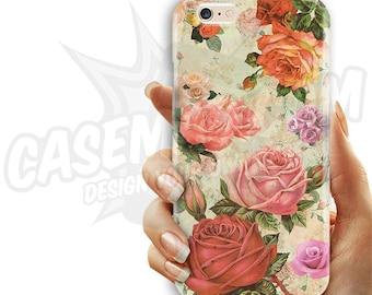 Antique Floral Phone Case