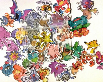 PokeGo : Mystery Pack Stickers