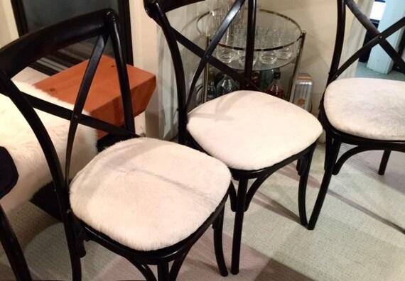Vachette coussins de chaise sur mesure si¨ge de la