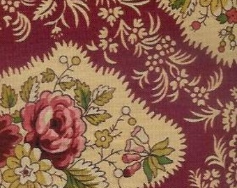 Rose Maison By Renee Floral Quilt Fabric Out Of Print High Quality Cotton Andover Roses