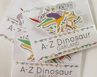 A-Z Dinosaur Garland/Bunting