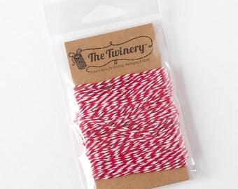 The Twinery Twine - Maraschino Red