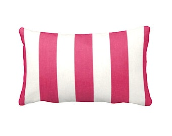 Pink Throw Pillow Cover Hot Pink Pillow Cover Decorative Pillow Covers Hot  Pink Decor Lumbar Pillows