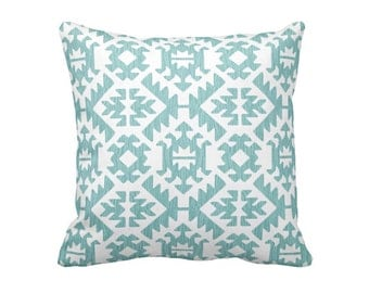 Blue Throw Pillow Cover Blue Pillow Cover Blue Aztec Pillow Blue Tribal Pillow Navajo Pillow Southwestern Pillow Decorative Pillow for Couch