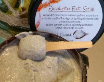 Eucalyptus Foot Scrub