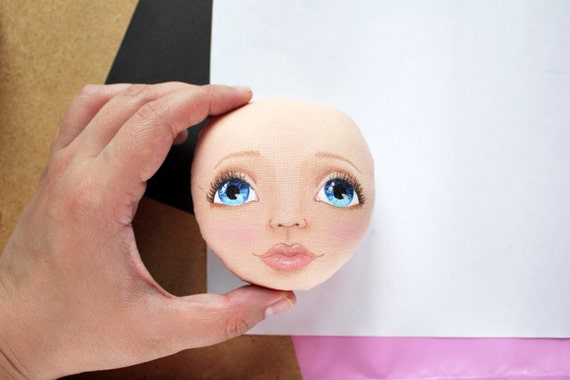 How to draw face, Tutorial, cloth doll, pdf, step by step ...